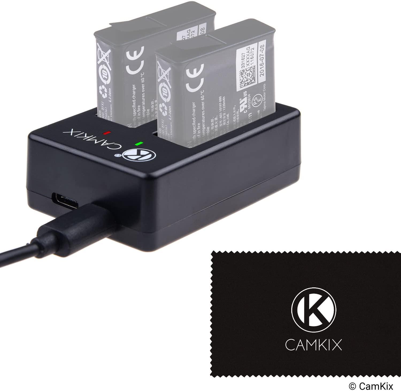 Caricabatterie CamKix per GoPro Hero 5 Black